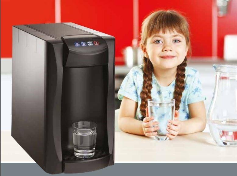 Sprudelwasserspender mit Option Heisswasser